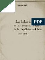 Marcelo Segal Lucha de Clases Antecedentes en La Historia de Chile