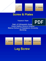 Plate and Screw Trauma