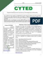 Boletín Cyted Nº20 2015 Web