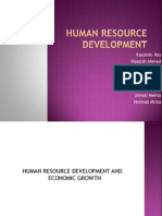 human resource developement economics