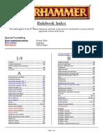 Rules Index