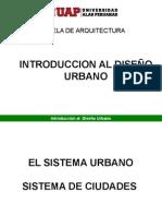 Introduccion Al Diseño Urbano I