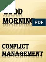 Conflict Management(Mkt.)