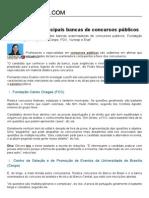 O Estilo Das 6 Principais Bancas de Concursos Públicos - Guia Do Concurso Público
