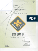 tim chief scouts award oct 2014