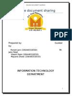 Online Document Sharing