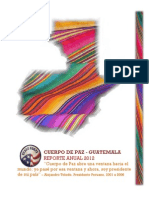 2012 Peace Corps In Country Annual Report (Spanish)