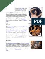 Dioses y Heroes de La Mitologia