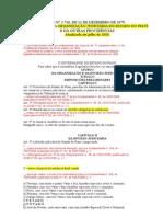 LEI d Eorganização Judiciária Do Piauí