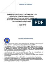 4. Romanian Cluster Policy and FDI_Leucuta