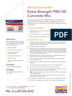 Cement Australia - Extra Strength PRO-50 Concrete Mix