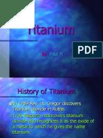 History of Titanium