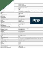 Datasheet Lenovo Laptop