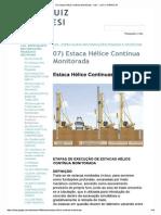 07) Estaca Hélice Contin...Lan - Luiz a. Naresi Jr