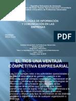Tecnologias de Informacion y Comunicacion en Las Empresas Expo Nro6