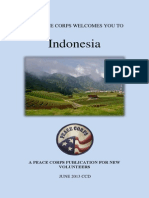 Peace Corps Indonesia Welcome Book FY13