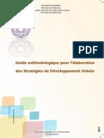 Guide Methodologique Pour l'Elaboration Des Strategies de Developpement Urbain