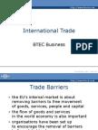 international trade required