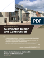 Good Practice Guidance - Sustainable Design and Construction