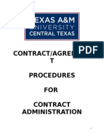 CONTRACT Procedures