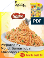 Research Methodology on Maggi