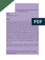 Epistemología e investigación