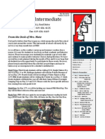 Intermediate Newsletter May 2015