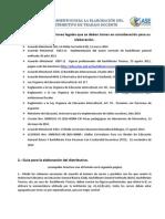 LINEAMIENTOS PARA LA ELABORACIÓN DEL DISTRIBUTIVO DE TRABAJO DOCENTE
