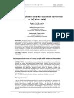 discapacidad intelectuall