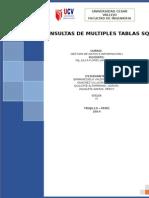 Consultas de Multiples Tablasing