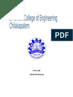 Foss Lab Manual