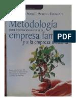Metodologia Para Institucionalizar a La Empresa Familiar y a La Empresa Mediana - Victor Manuel Mendivil Escalante 117