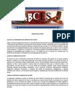 ABCES 2012 Derecho de Autor