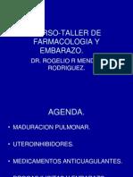 Curso-taller de Farmacologia y Embarazo