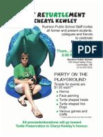 Cheryl Kewley Retirement Party Flyer