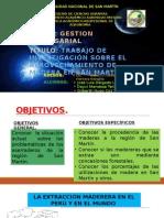 GESTION EMPRESARIAL - Extraccion de La Madera