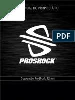 Manual do Proprietário - Proshock