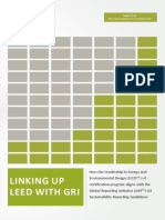 Linking Up LEED v4 With GRI G4 2014