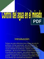 Control de Agua en El Minado