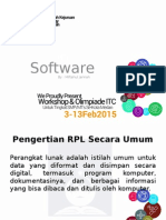 rekayasa perangkat lunak (rpl)