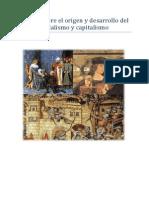 Teorías Sobre El Origen y Desarrollo Del Feudalismo y Capitalismo