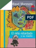 El Niño Retardado y Su Madre [Maud Mannoni]