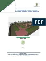 Proyecto Final Mejoramiento Parque Primavera II Etapa (Diagnostico)