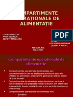 Compartimente OperaTionale de AlimentaTIe
