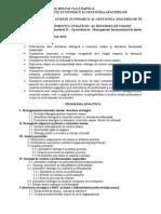 Management Strategic Al Resurselor Umane MIG