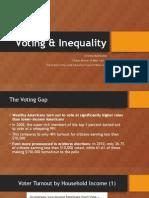 Voting & Inequality