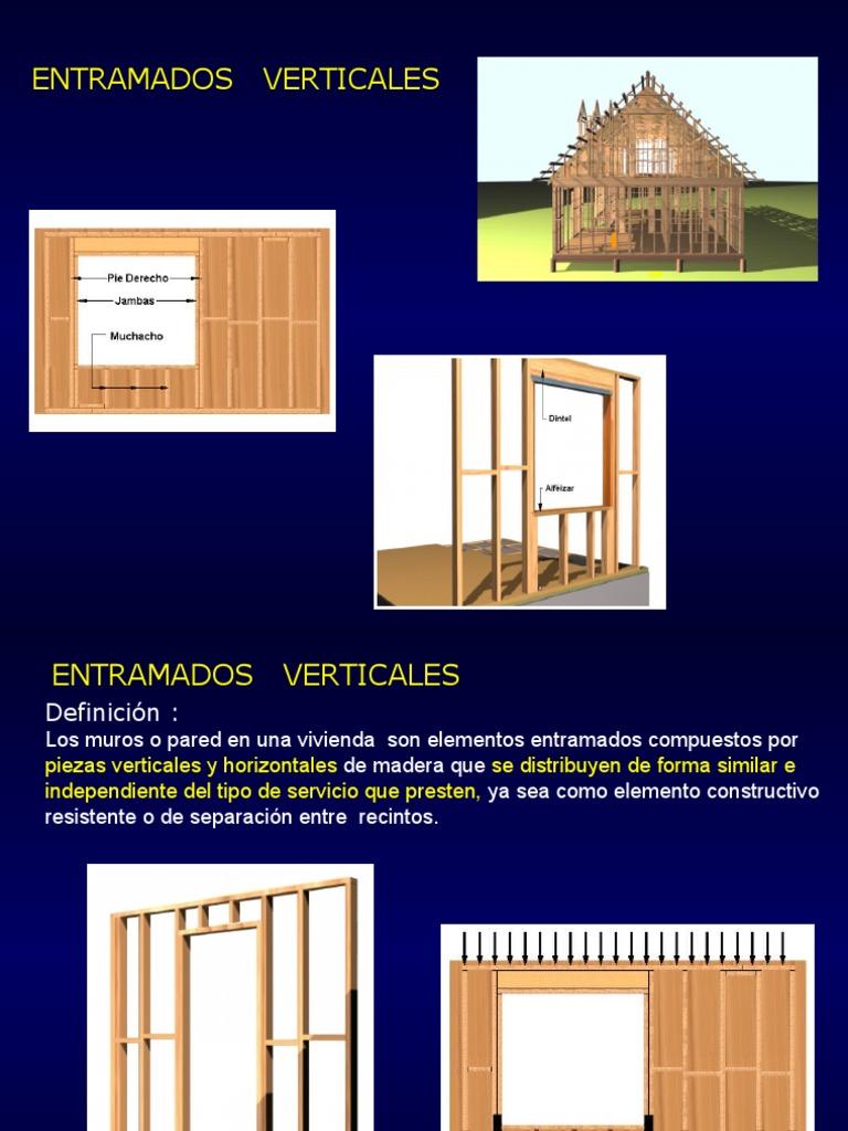 Entramado Vertical para Construcción en Madera