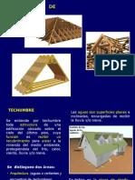 Estructura de Techumbre para Construcción en Madera