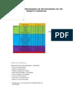 Exemplos de Programas de Necessidades de Um Projeto Comercial