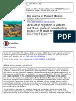 Rural-urban Migration in Vietnam and China JPS 2014